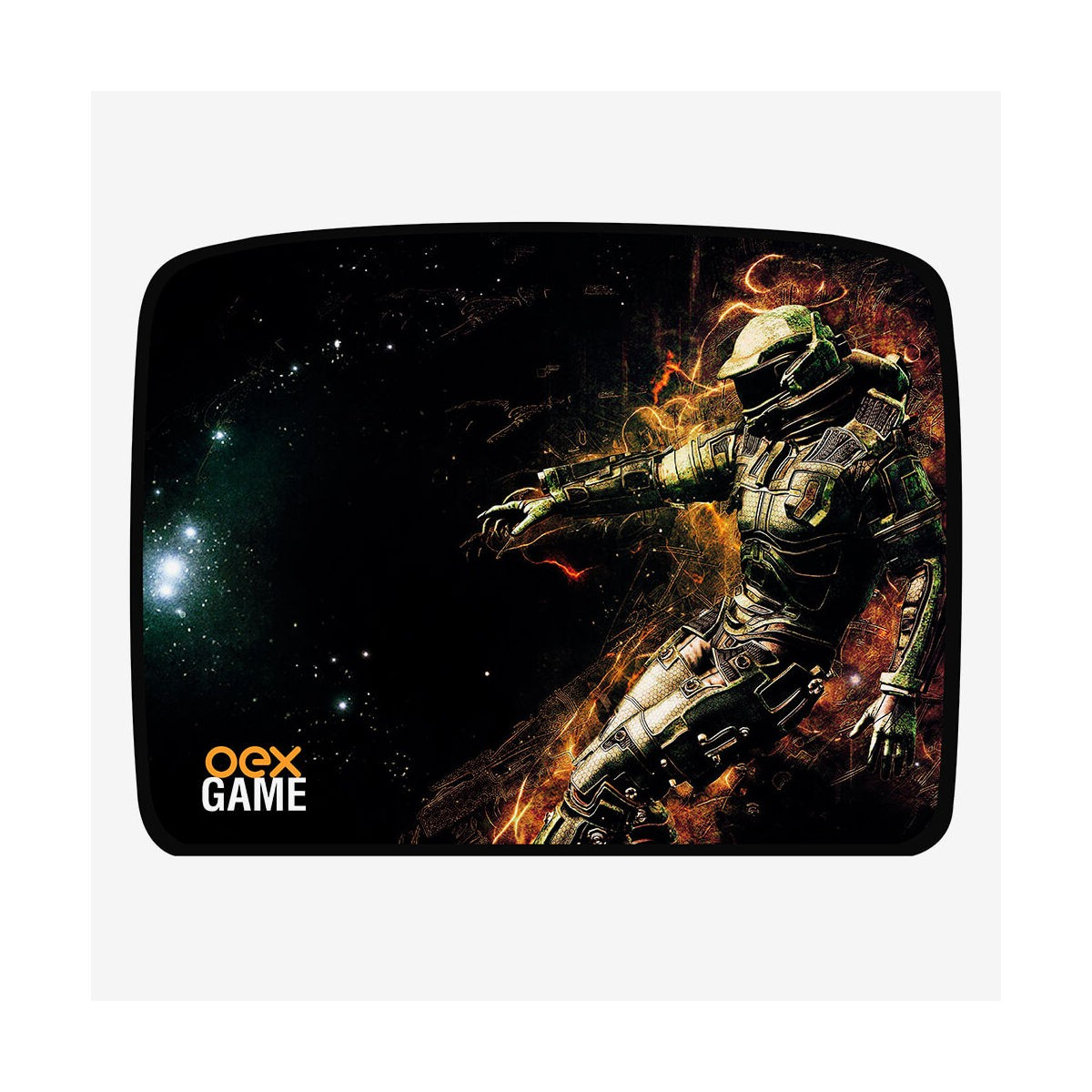Mouse Pad Galaxy Oex Game MP 304 Profissional