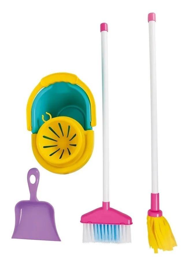Kit De Limpeza Infantil My Cleaning Set Maral