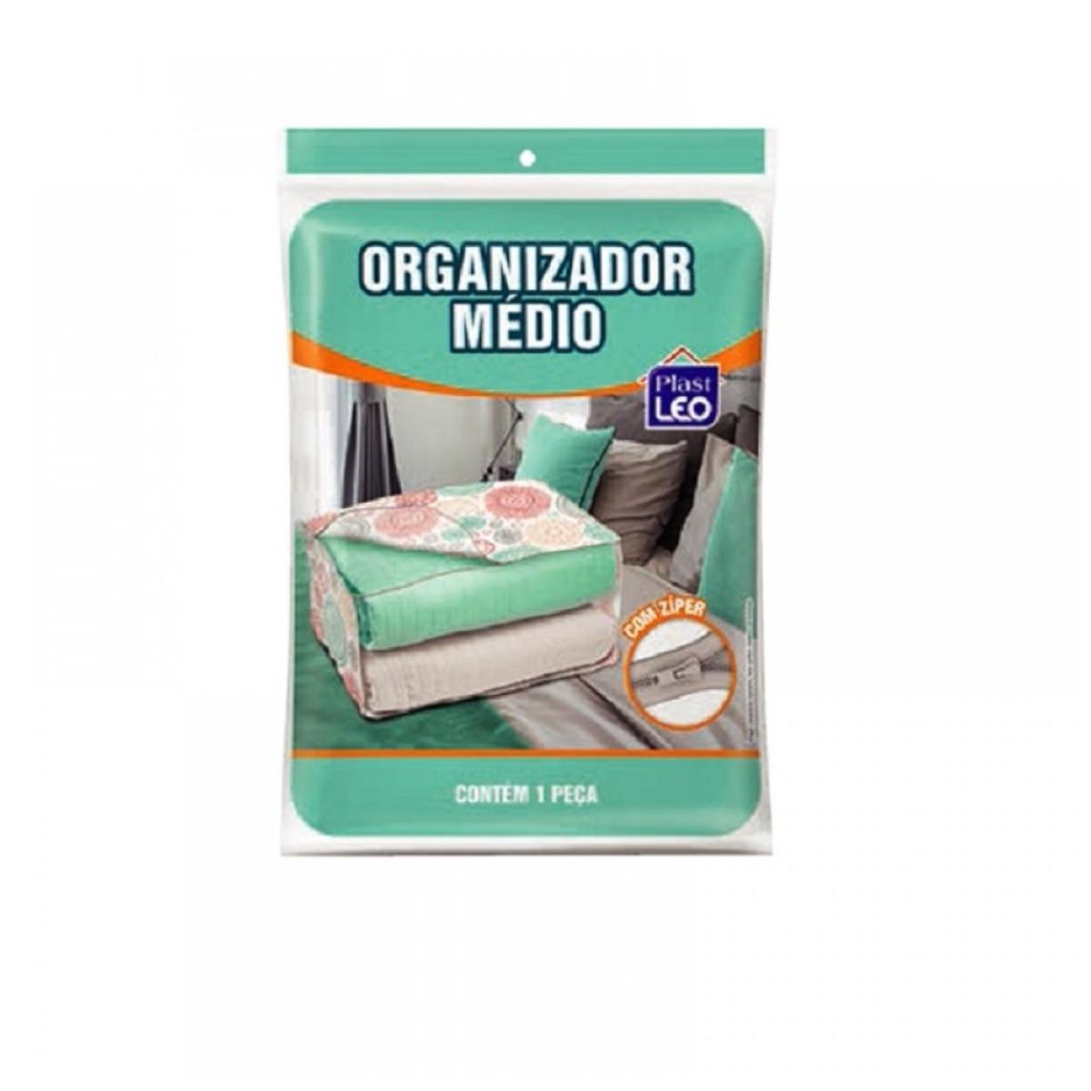 Organizador médio com zíper