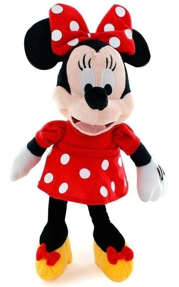 Pelúcia Minnie Com Som 45 Cm Disney  Multikids