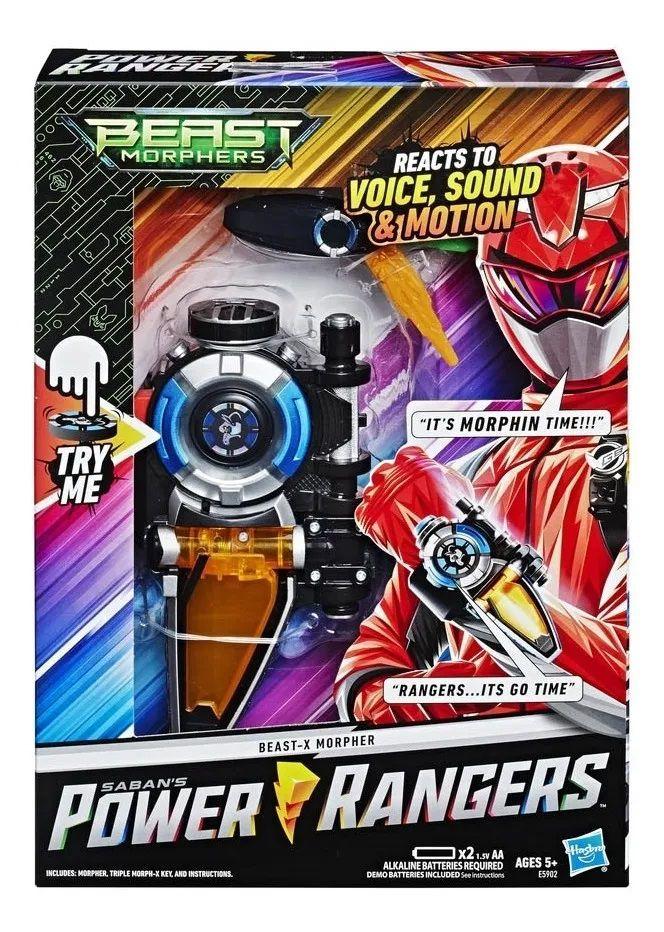 Brinquedo Morfador Power Rangers Beast Morphers Hasbro E5902