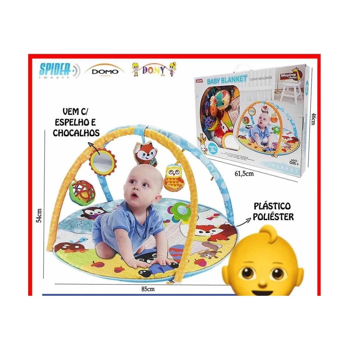 Tapete Infantil Baby Blanket Atividades 17404