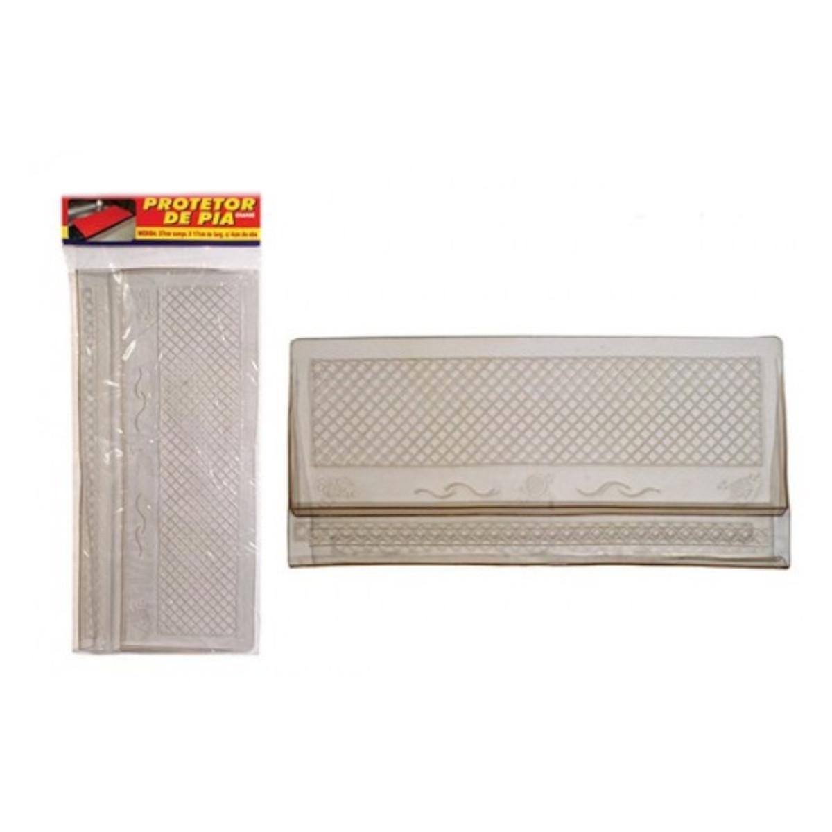 Tapete protetor de pia de cozinha com encaixe