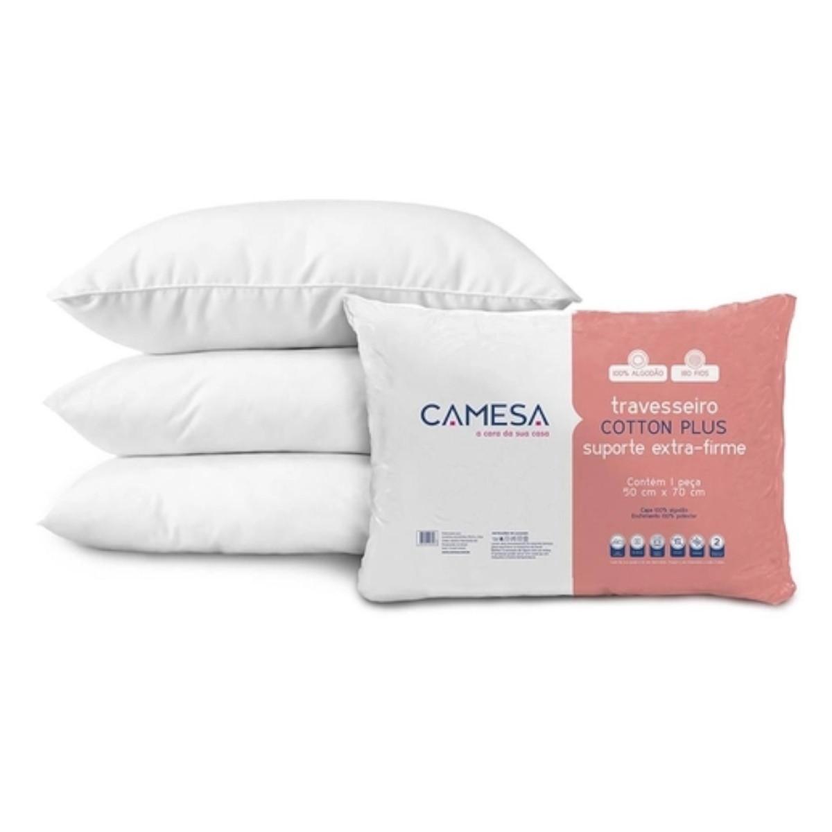 Travesseiro Cotton Plus Extra Fofo 180 Fios