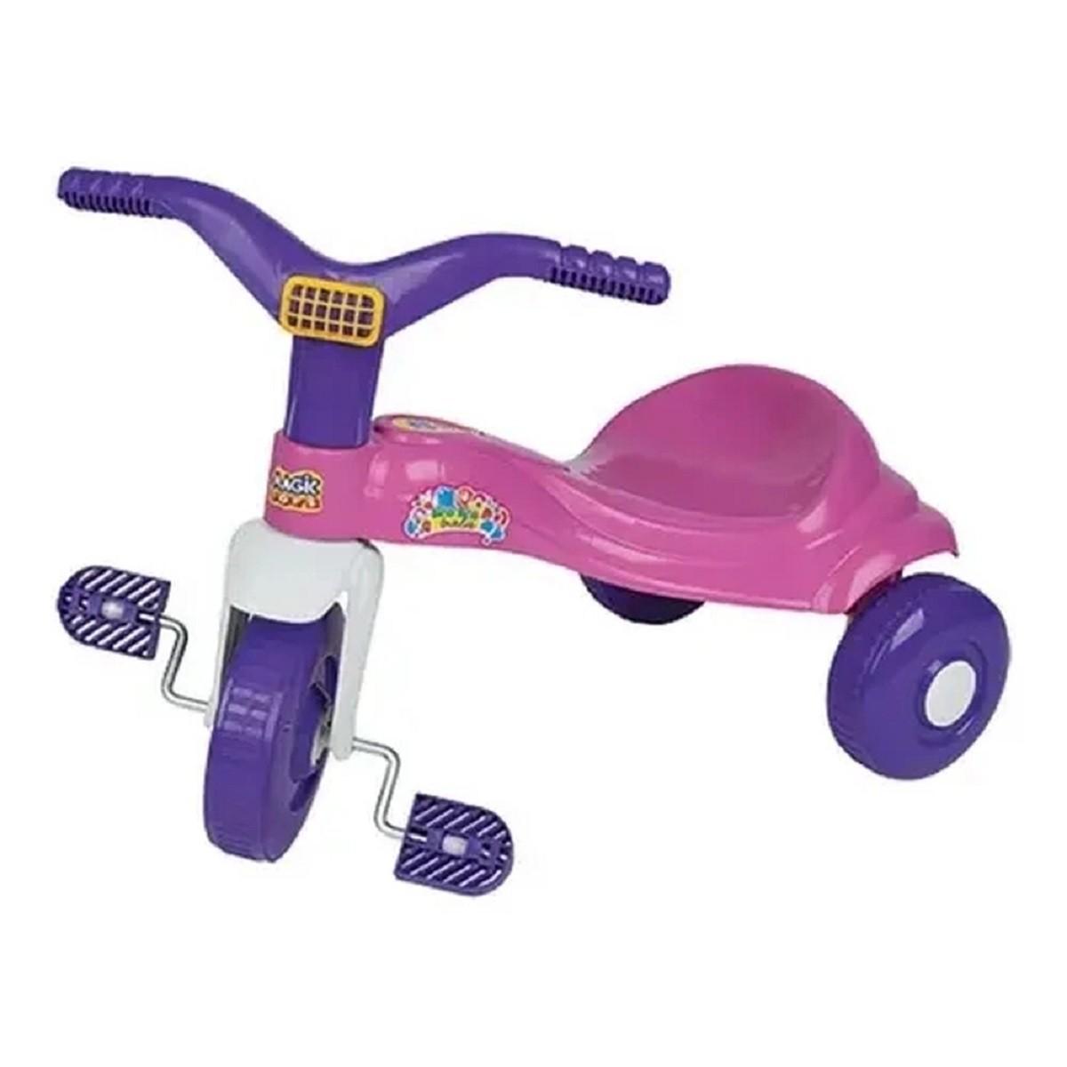Triciclo Tico Tico Bala Rosa Magic Toys