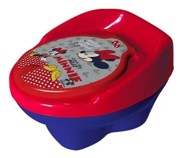 Troninho Pinico Minnie Disney Infantil 2 em 1 Styll Baby