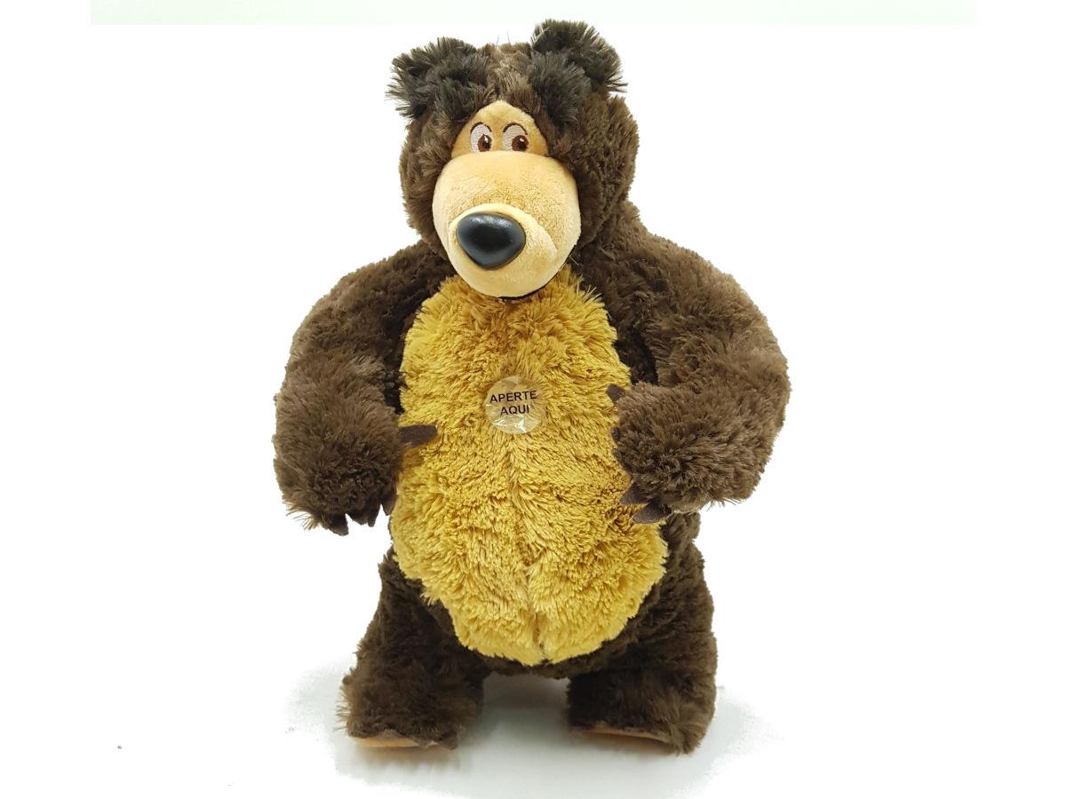 Urso De Pelúcia Da Masha e o Urso Estrela