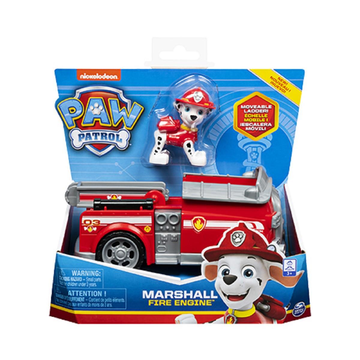 Veículo Básico Patrulha Canina Marshall Fire  Engine Sunny