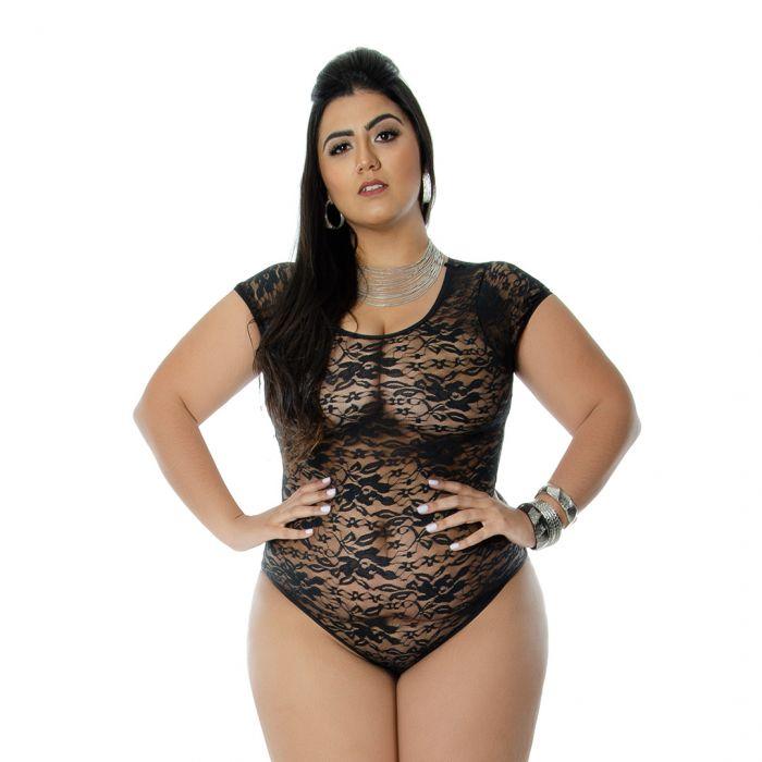 Body Princess renda tamanho GG