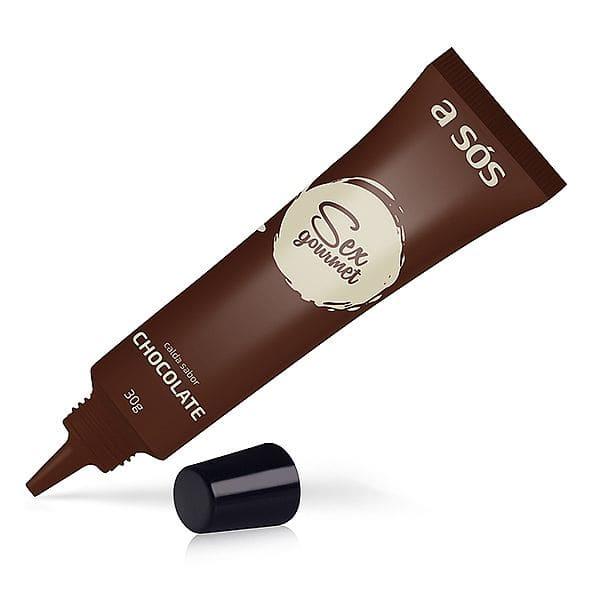 Caneta Sex Gourmet Calda comestível de Chocolate 30g