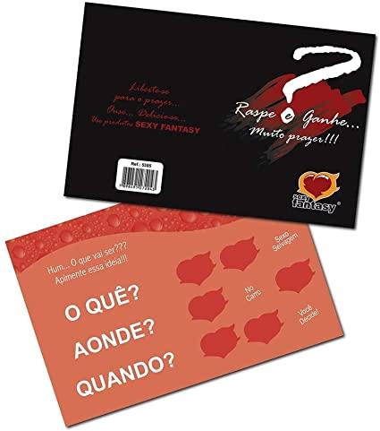 Cartão Raspe e Ganhe Muito Prazer !!!