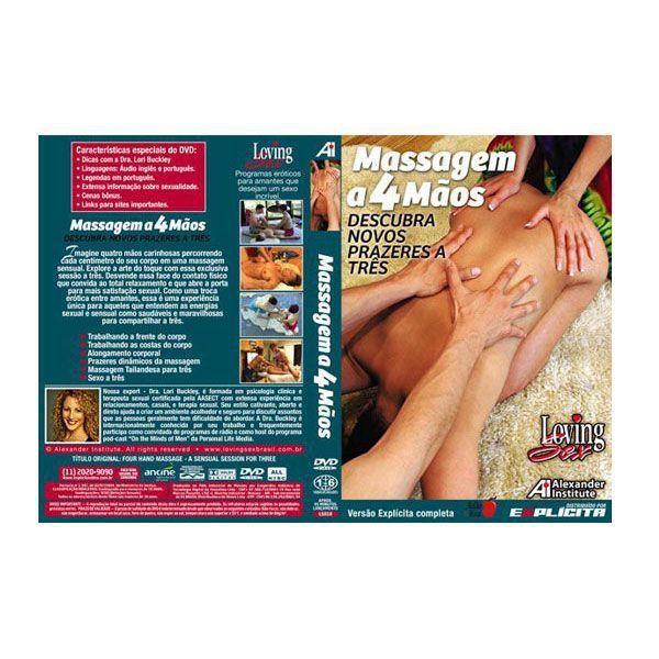 DVD Massagem a 4 Mãos