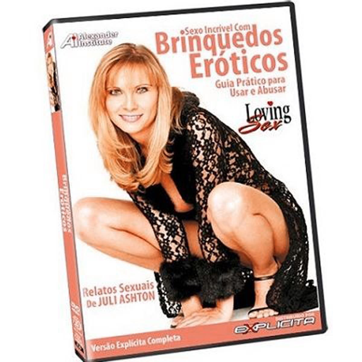 DVD- Sexo Incrível Com Brinquedos Eróticos
