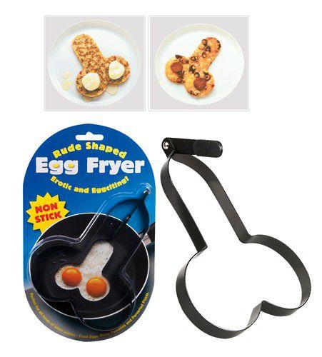 EGG FRYER - Forma em forma de espermatozoide para fritar ovo