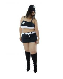 Fantasia Policial Kim tamanho XXG
