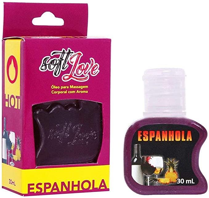 Gel beijável 30ML Sabor: Espanhola; Térmico: Hot