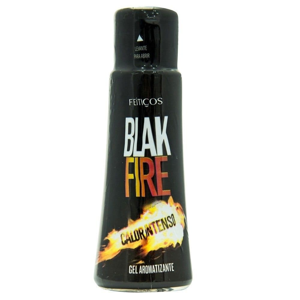Gel beijável aromático Black Fire  Calor Intenso 40ml