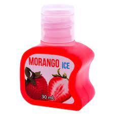 Gel beijável para sexo oral Sabor: Morango; Térmico: ICE