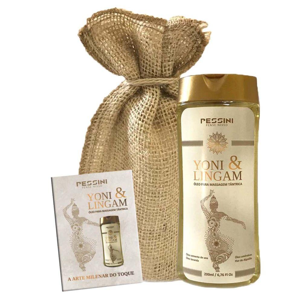 Oleo de Massagem Yoni e Lingam 200ml Pessini