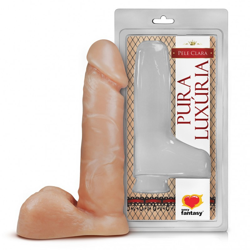Pênis sem vibro - 16 x 3,2 cm - Pele