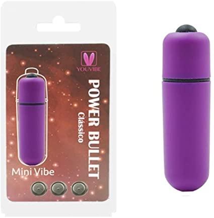 Vibrador Cápsula Power Bullet 6cm