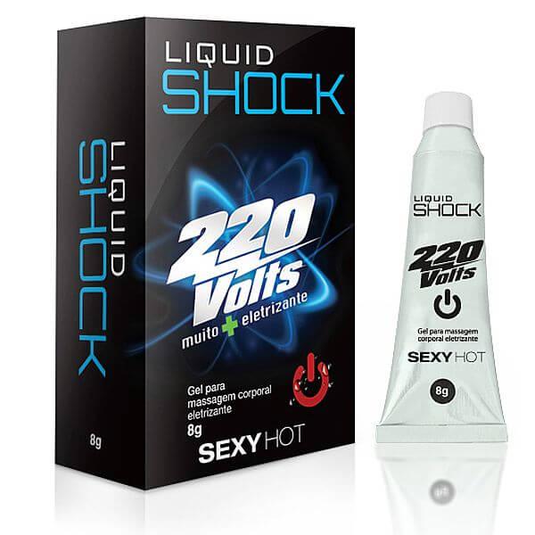 Vibrador Liquido Liquid Shock 220 volts 8g