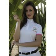 Camisa Polo Feminina de Hipismo Piquet HDR