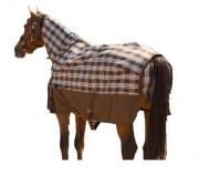 Capa de Nylon Impermeável c/Pescoceira para Cavalo HDR