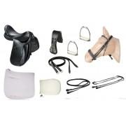 Combo/kit Sela de Adestramento Clássico SP Luxo