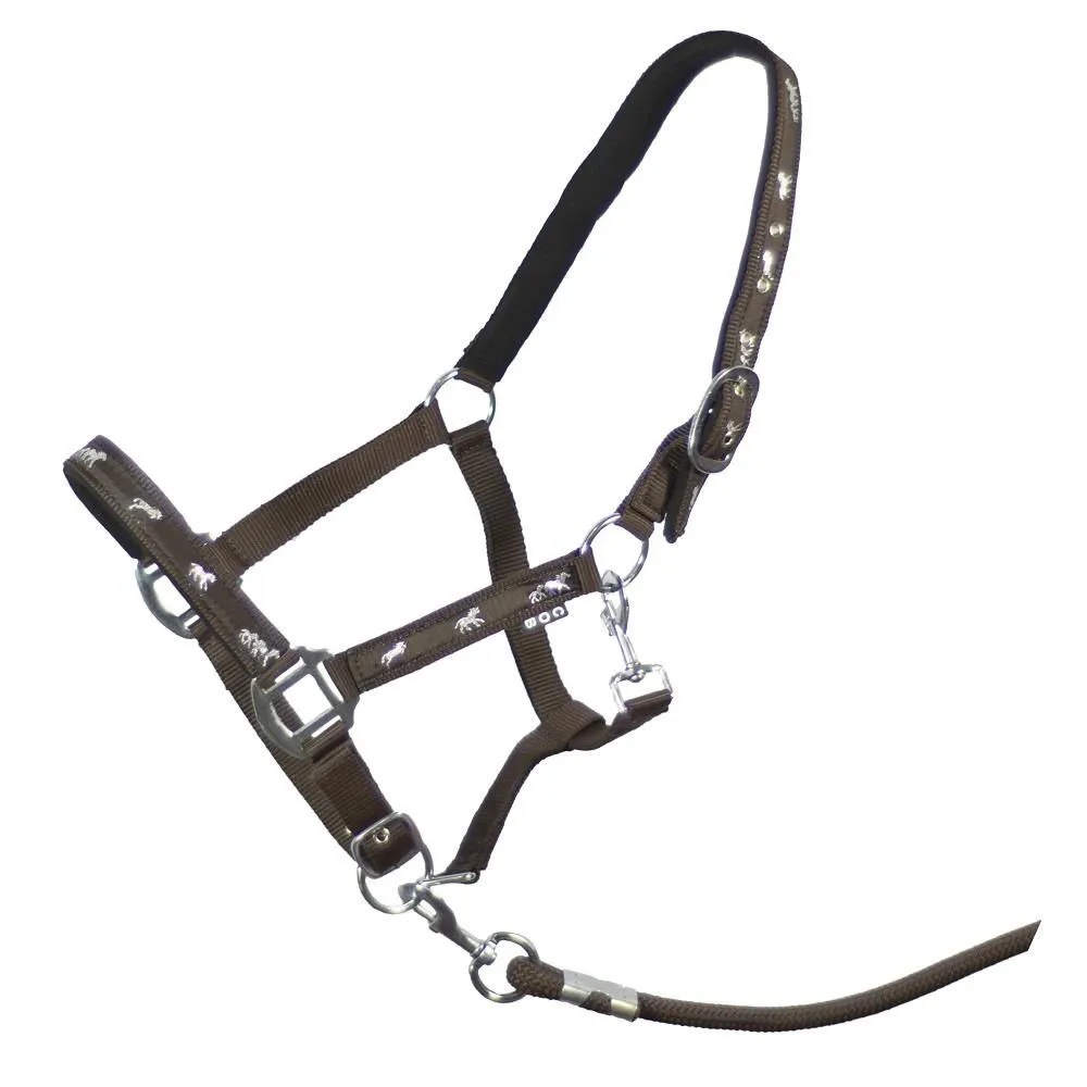 Cabresto de Nylon com Cabo para Cavalo Horse INS  - Salto & Sela