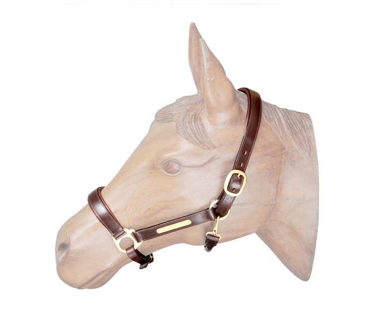 Cabresto em Couro para Cavalo HDR  - Salto & Sela