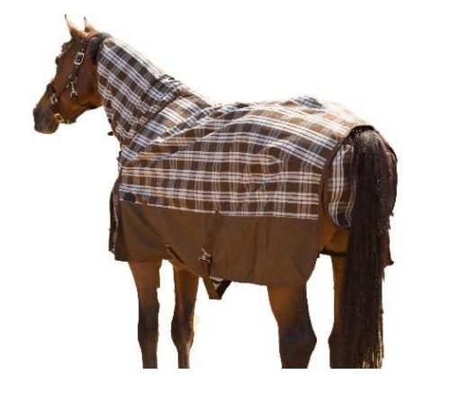Capa de Nylon Impermeável c/Pescoceira para Cavalo HDR  - Salto & Sela