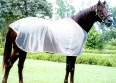 Capa Mosqueteira para Cavalo Poliester EB  - Salto & Sela