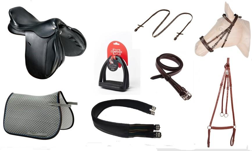 Combo/Kit Sela de Salto Especial Tack Pro 02