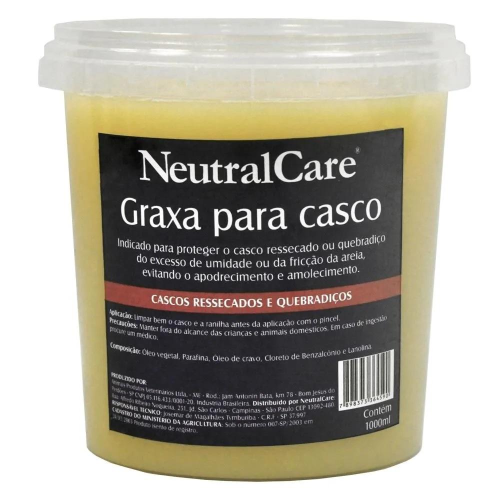 Graxa para Casco de Cavalo 1 Litro NC  - Salto & Sela