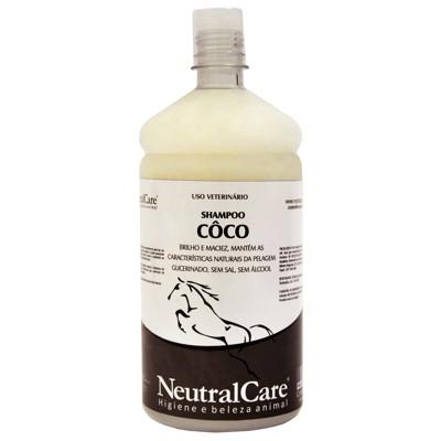 Shampoo para Cavalo Coco Litro NC  - Salto & Sela
