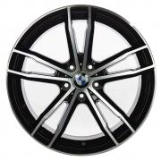 Jogo De Rodas BMW 330i Aro 20x8,0 5x112 GT7 Preto Diamantado Brilhante