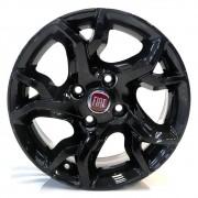 Jogo de Rodas Fiat Argo HGT Aro 15 4x98 ZK860 Black