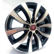 Jogo de Rodas Fiat Toro Aro 18 5x110 Tala 7 ZK905 BD