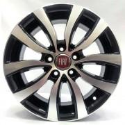 Jogo de Rodas Fiat Toro Ranch Aro 16 ZK905 5x110 BD