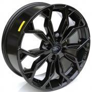 Jogo de Rodas Fiesta ST Aro 17X7,0 4X108 Tala 42 Black Ford M16