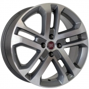 Jogo de Rodas Réplica Fiat Toro Aro 14 4x98 KR R73 GD