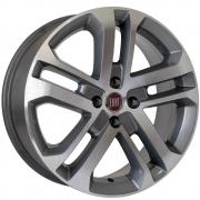 Jogo de Rodas Réplica Fiat Toro Aro 15 4x98 KR R73 GD