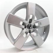 Jogo de Rodas Strong Aro 17 4x100 VW GM Zk610 Prata