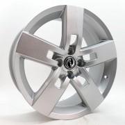 Jogo de Rodas Strong Aro 18 4x100 VW GM Zk610 Prata
