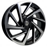 Jogo De Rodas VW Novo Polo Aro 18 4x100 Tala 7 R93 BD