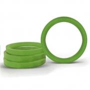 Kit Anéis Centralizador de Roda Nissan Verde