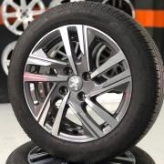 Kit Rodas Aro 16 Original Peugeot 208 2021 + Pneus 195/55 R16 Pirelli