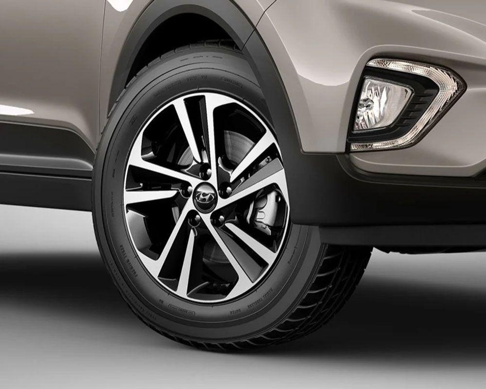 Jogo 4 Rodas Hyundai Creta Prestige 2020 Aro 17 S16 BD
