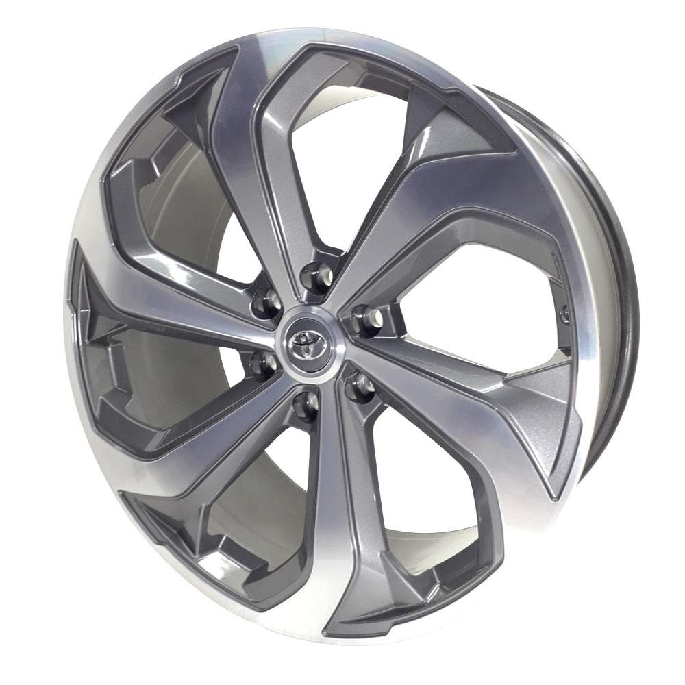 Jogo 4 Rodas Toyota Hilux Aro 22 6x139,7 Tala 9 S26 GD
